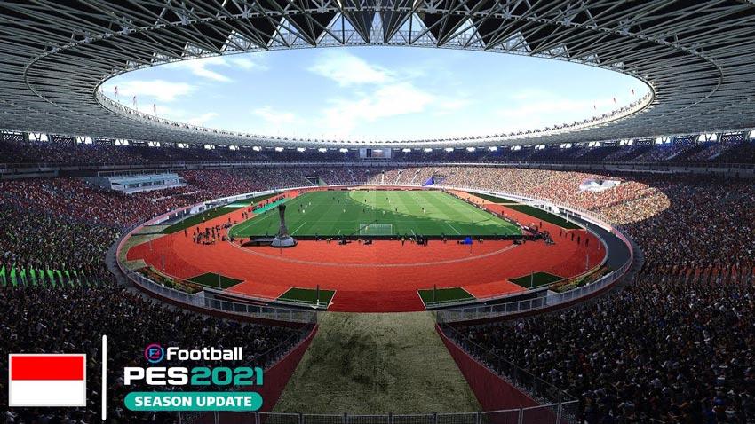 Gelora Bung Karno Main Stadium For eFootball PES 2021