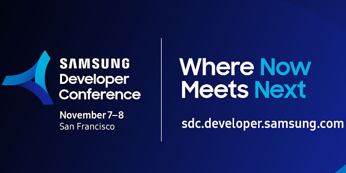 Watch the Samsung Developer Conference 2018
