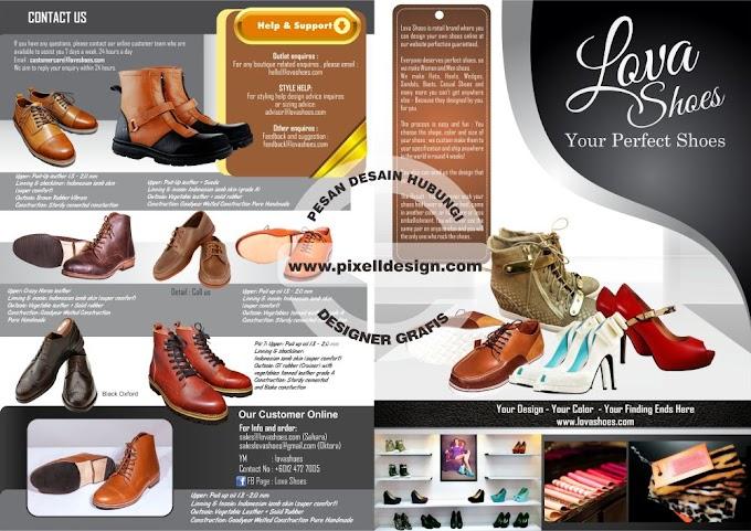 Contoh Iklan Sepatu dan Sandal yang Menarik