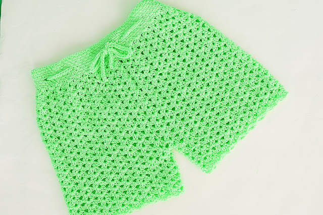 6 - Crochet Imagen Pantalón o short a crochet y ganchillo por Majovel Crochet
