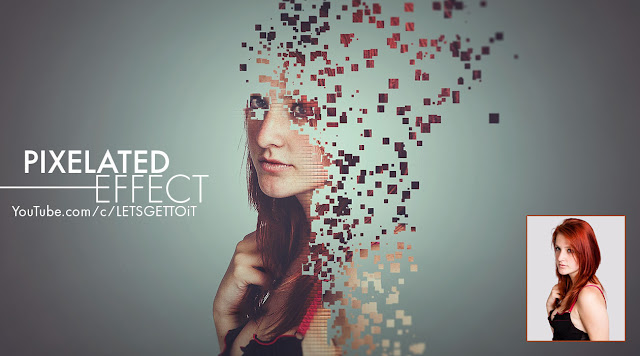 How to Create an Awesome Pixelated Effect in Photoshop
