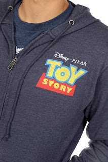 toy story boxlunch zip-up hoodie sweatshirt