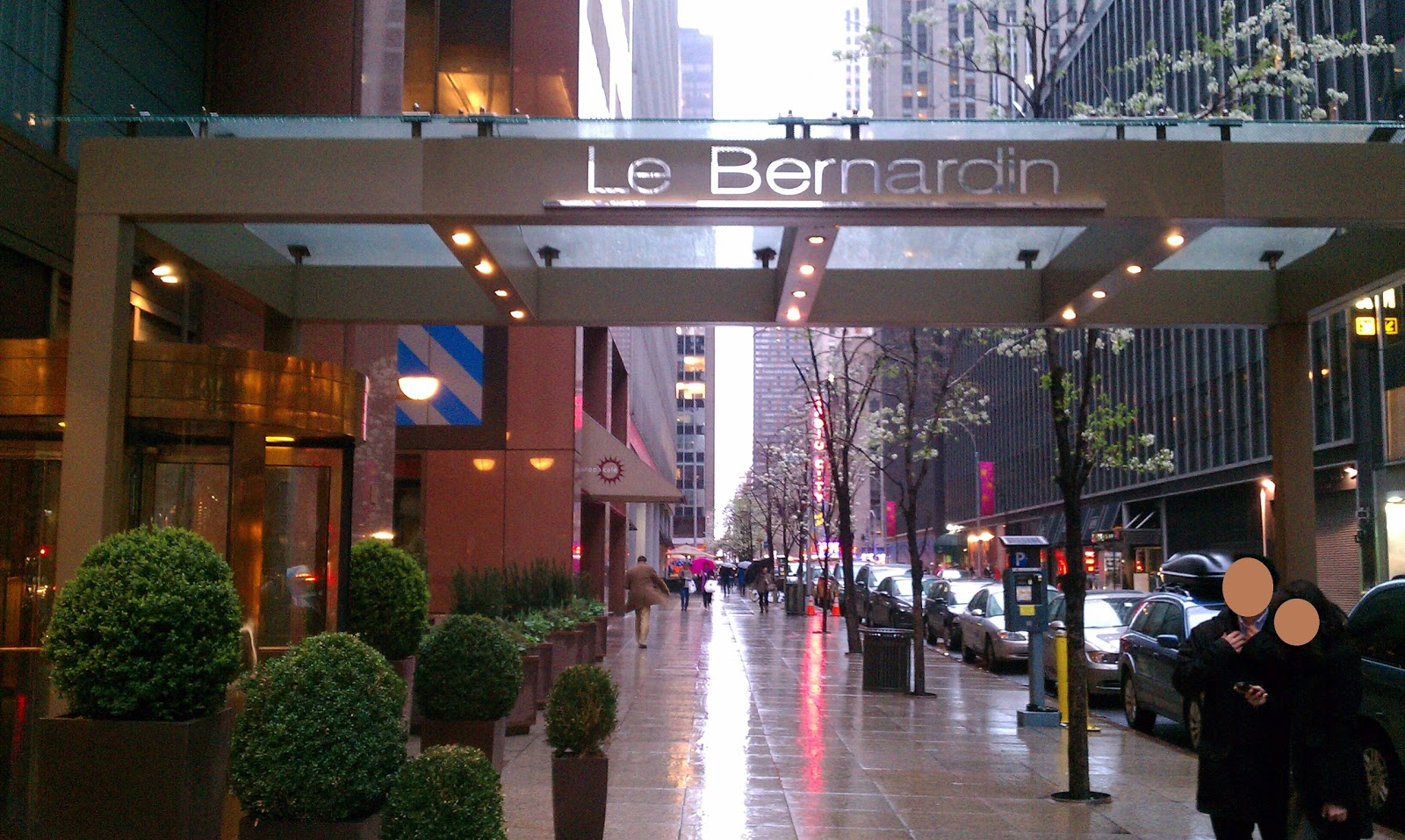 Le Bernardin Restaurant New York Ny