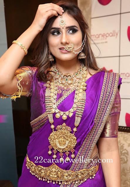 Nikitha Chaturvedi Nakash Jewellery
