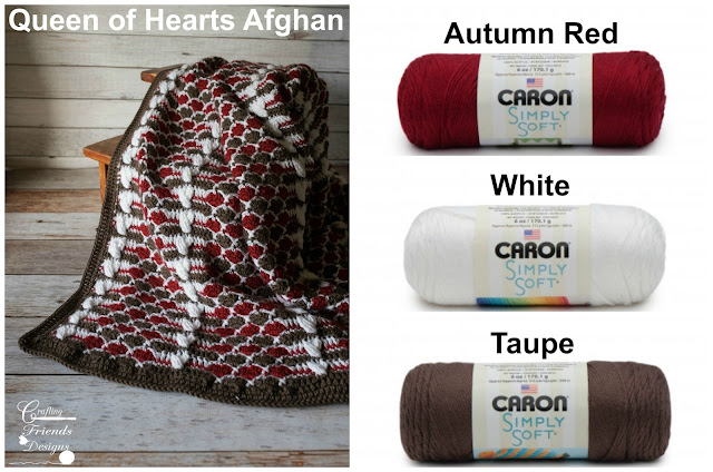 Queen of Hearts Afghan