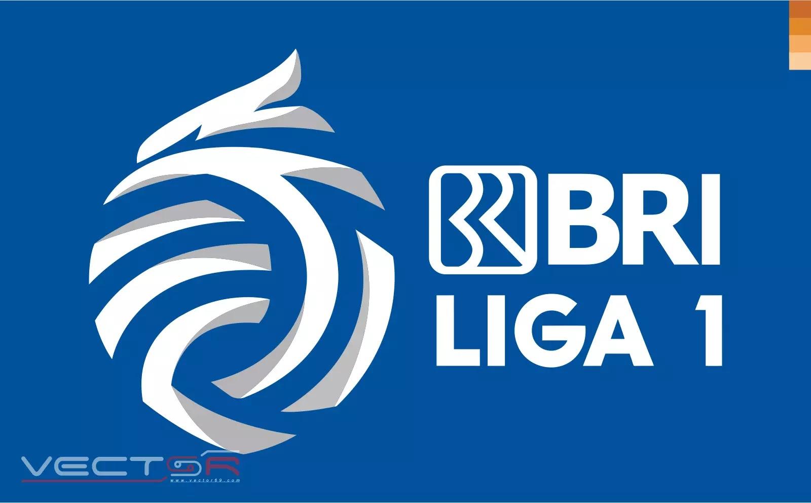 BRI Liga 1 Indonesia Secondary Logo - Download Vector File AI (Adobe Illustrator)