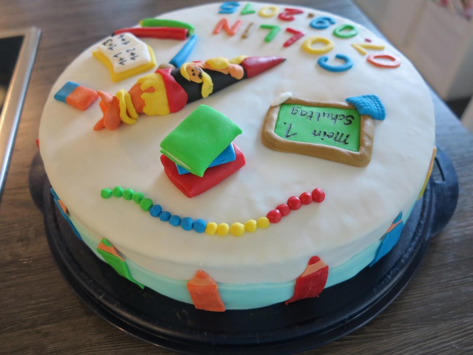 Zauberhaftes Handgemachtes Die Torte Zur Einschulung