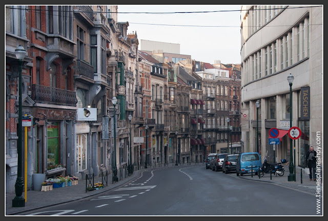 Barrio del Sablon Bruselas