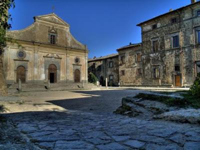 Chiesa di San Donato a Civita di Bagnoregio.