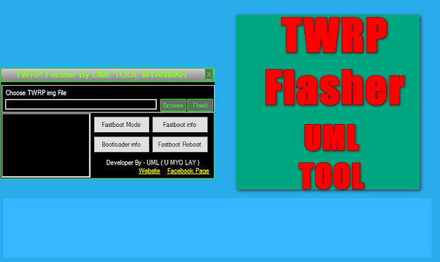 TWRP Flasher Toolkit By UML Mobile Solution