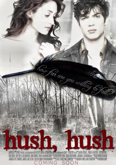 Atenção Hushers: Hush, Hush vai virar filme!