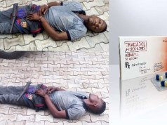 Kidnapper who fell asleep while abducting a Pharmacist is dead! Tramadol Overdose!