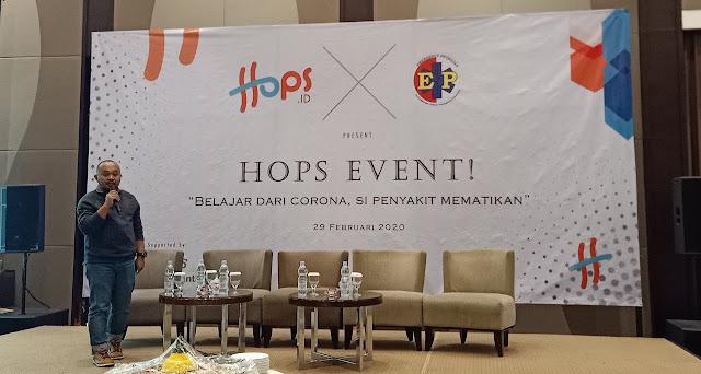 Hops.id Launching dan Talkshow Mengenai Coronavirus