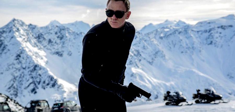 Daniel Craig în Austria la filmările pentru Bond 24: SPECTRE
