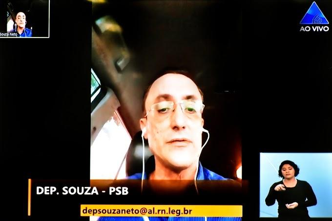 Souza destaca sua luta pelo desenvolvimento do setor pesqueiro e o fortalecimento do Idema em Mossoró
