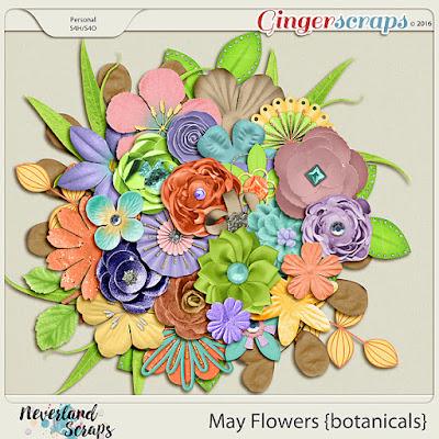 http://store.gingerscraps.net/May-Flowers-botanicals.html