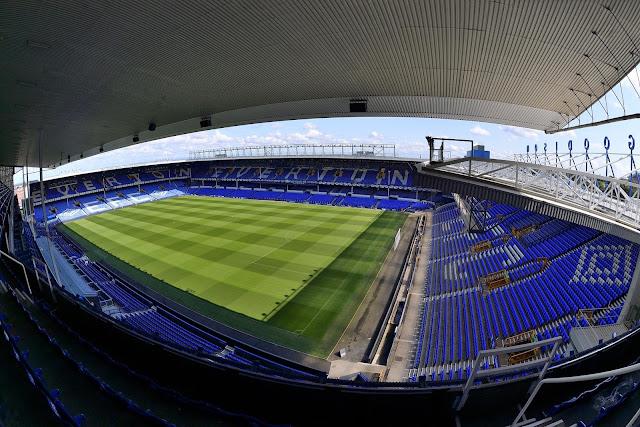 Everton home ground Goodison Park