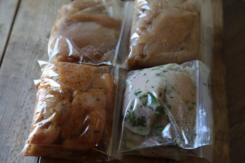 4 freezer marinades for chicken