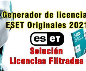 Generador Licencias Eset Gratis