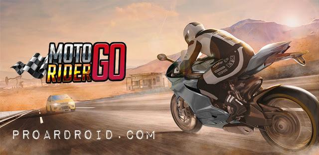 تحميل لعبة سباق الدراجات الشهيرة Moto Rider GO: Highway Traffic النسخة المهكرة للاجهزة الاندرويد