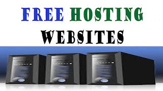free web hosting website list