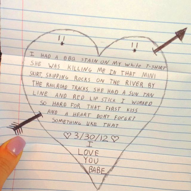Boyfriend my a letter to romantic The Most