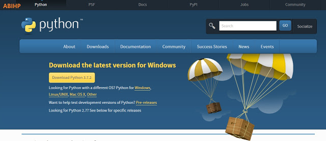 Cara instalasi program Python di windows 10.