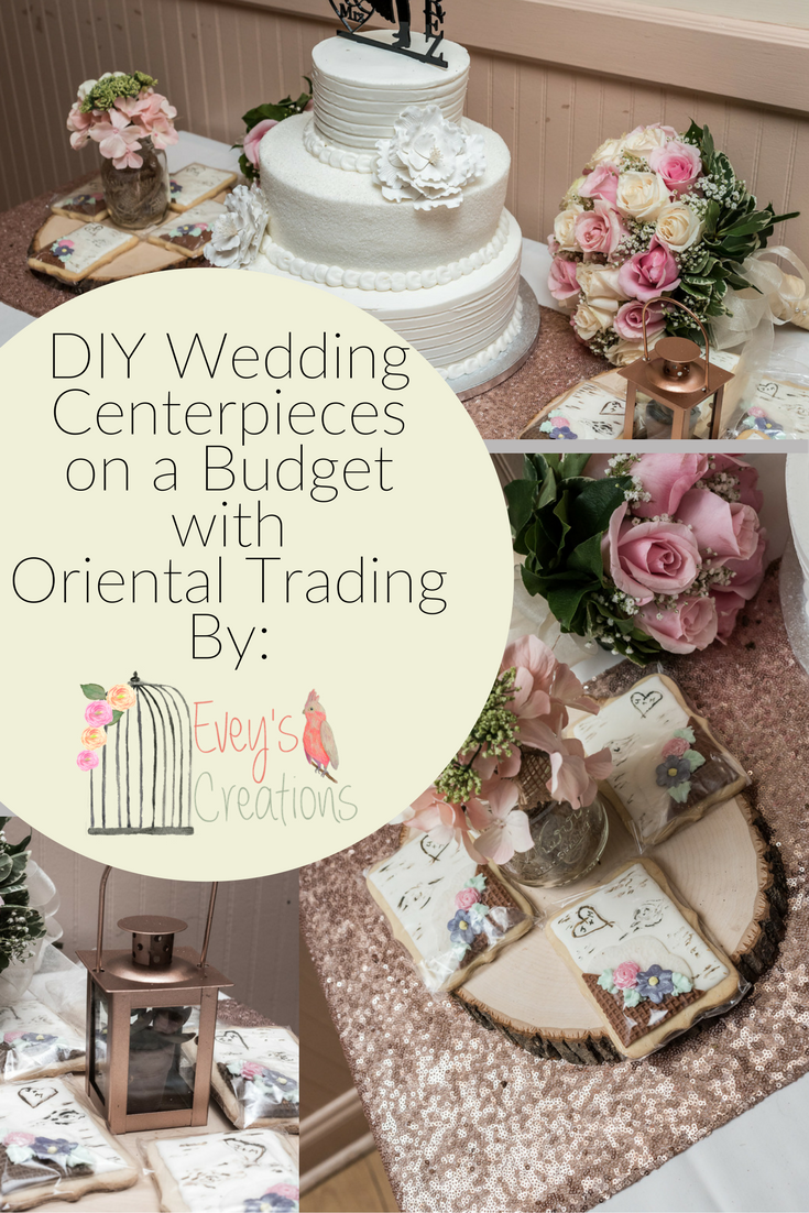 Evey\'s Creations: DIY Wedding Centerpieces on a Budget