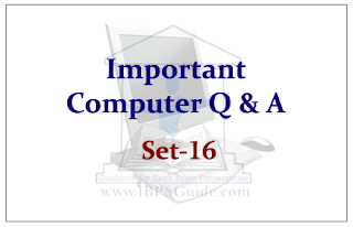 Important Computer Questions Set-16
