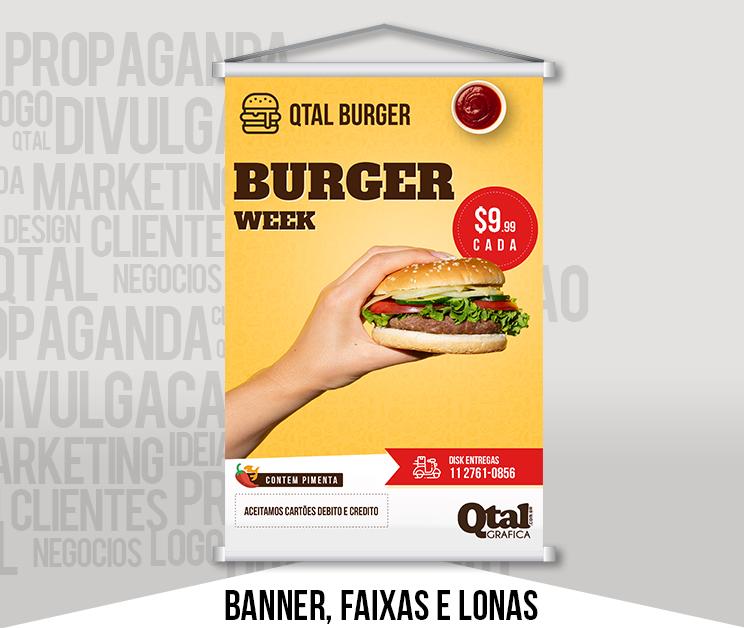 Banners, Faixas e Lonas
