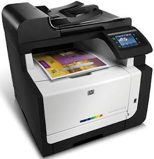 HP LaserJet Pro CM1415fnw Driver Printer Download