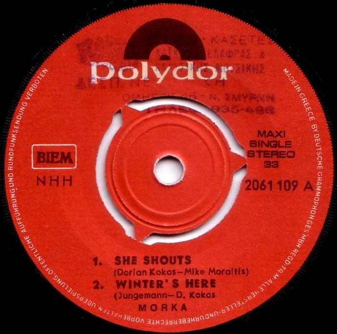 Morka - She Shouts - Winter's Here - I See - Judy