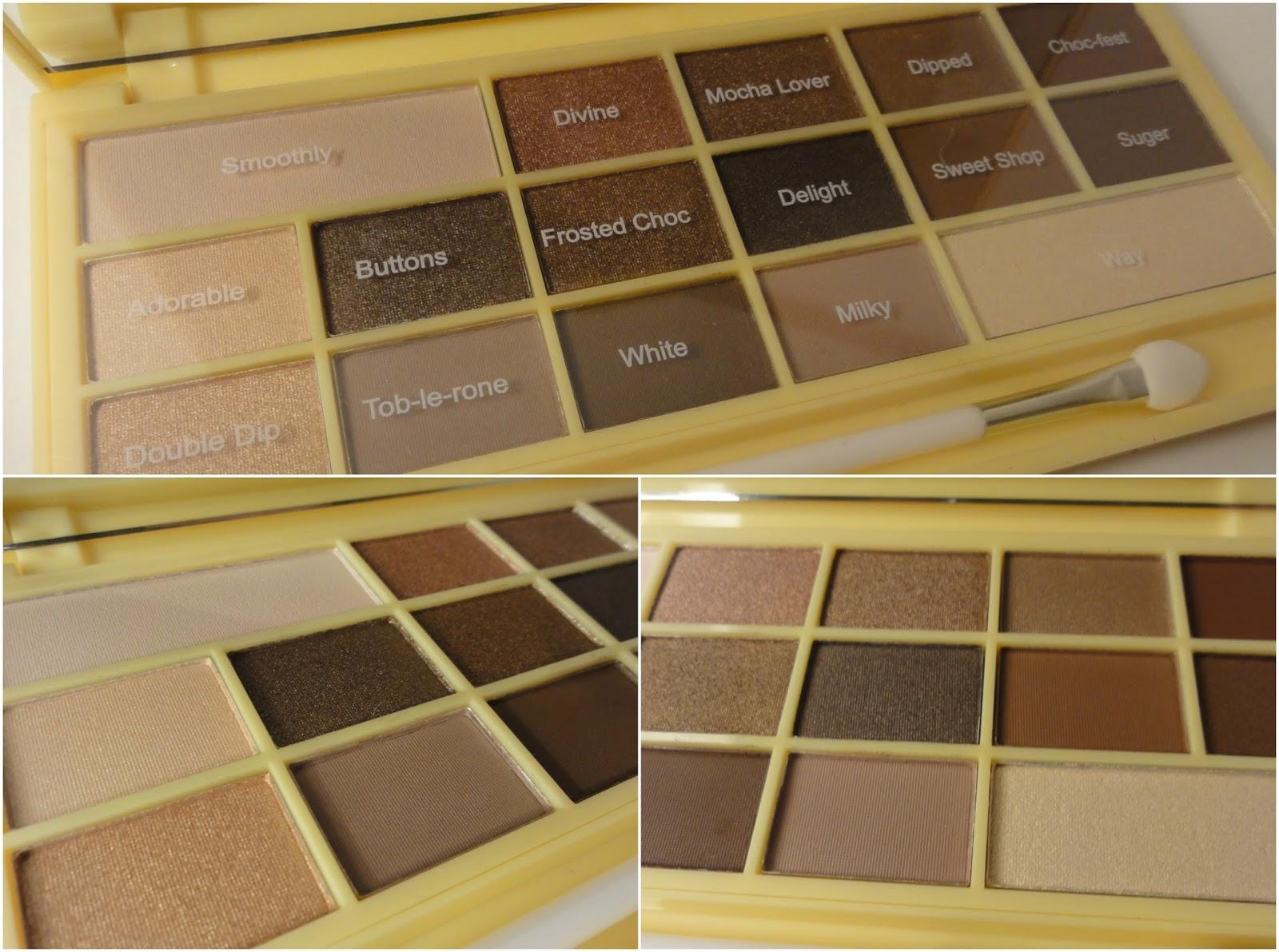 I heart makeup chocolate palette rossmann