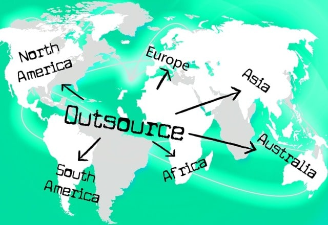 outsourcing options build business budget outsource work cheap overseas