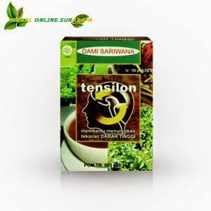 Jual Obat Darah Tinggi TENSILON Produk dari DAMI SARIWARNA Surabaya