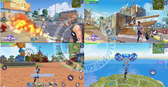 fortcraft battle royale android