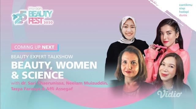 Keseruan #25TahunWardah pada Wardah Beauty Fest 2020