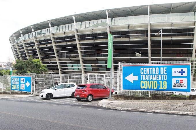 Governo lança edital para gestão do Hospital de Campanha Arena Fonte Nova