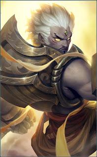 Gatotkaca Arhat King Heroes Tank of Skins