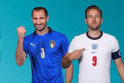 Prediksi Tanding Italia vs Inggris pada Partai Final Euro 2020