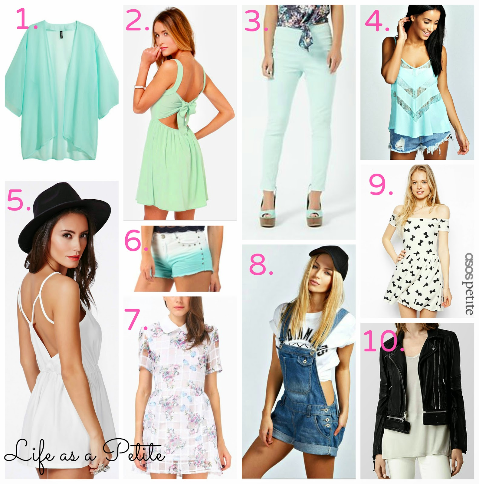Petite Outfit Ideas: Summer Wishlist || Life as a Petite