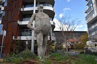 'Modern Man' by Tim Kyle I Canberra Public Art