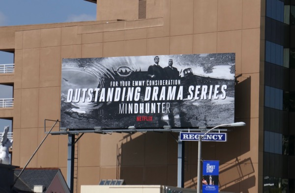 Mindhunter 2018 Emmy consideration billboard