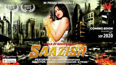 Saazish web series Wiki, Cast Real Name