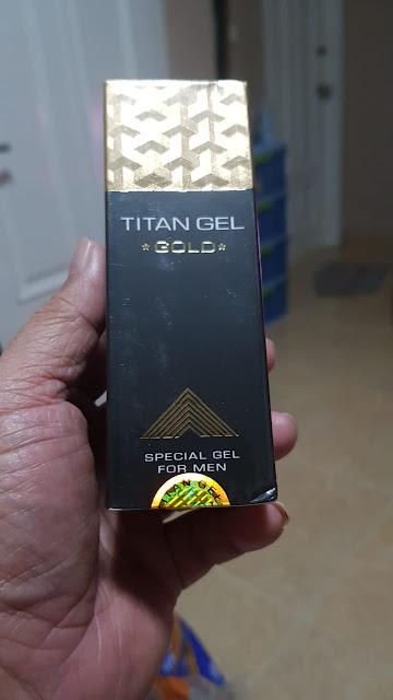 Gambar titan gel palsu