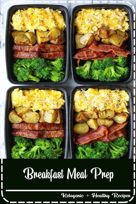 Now you can sleep in and eat a filling and hearty breakfast ALL WEEK LONG Breakfast Meal Prep