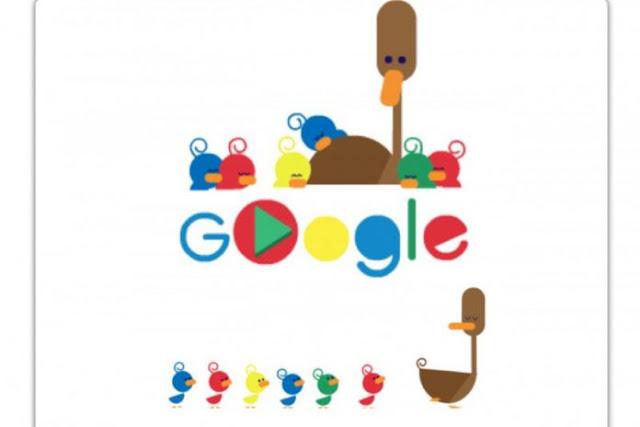 Google rayakan Hari Ibu dengan doodle anak dan induk itik