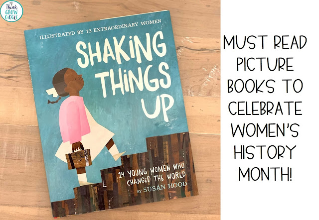 6 Women's History Month Read Aloud Picture Books for Upper Elementary