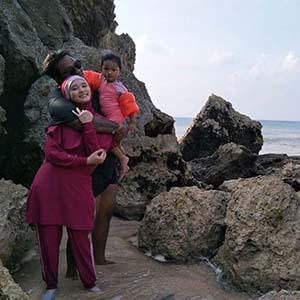 Virgoun Bersama Keluarganya