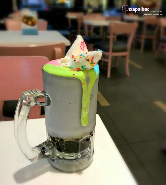 Sakura Unicorn Milkshake from Tokyo Bubble Tea